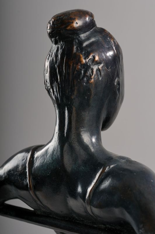 Danseuse Sculpture Bronze Chaland