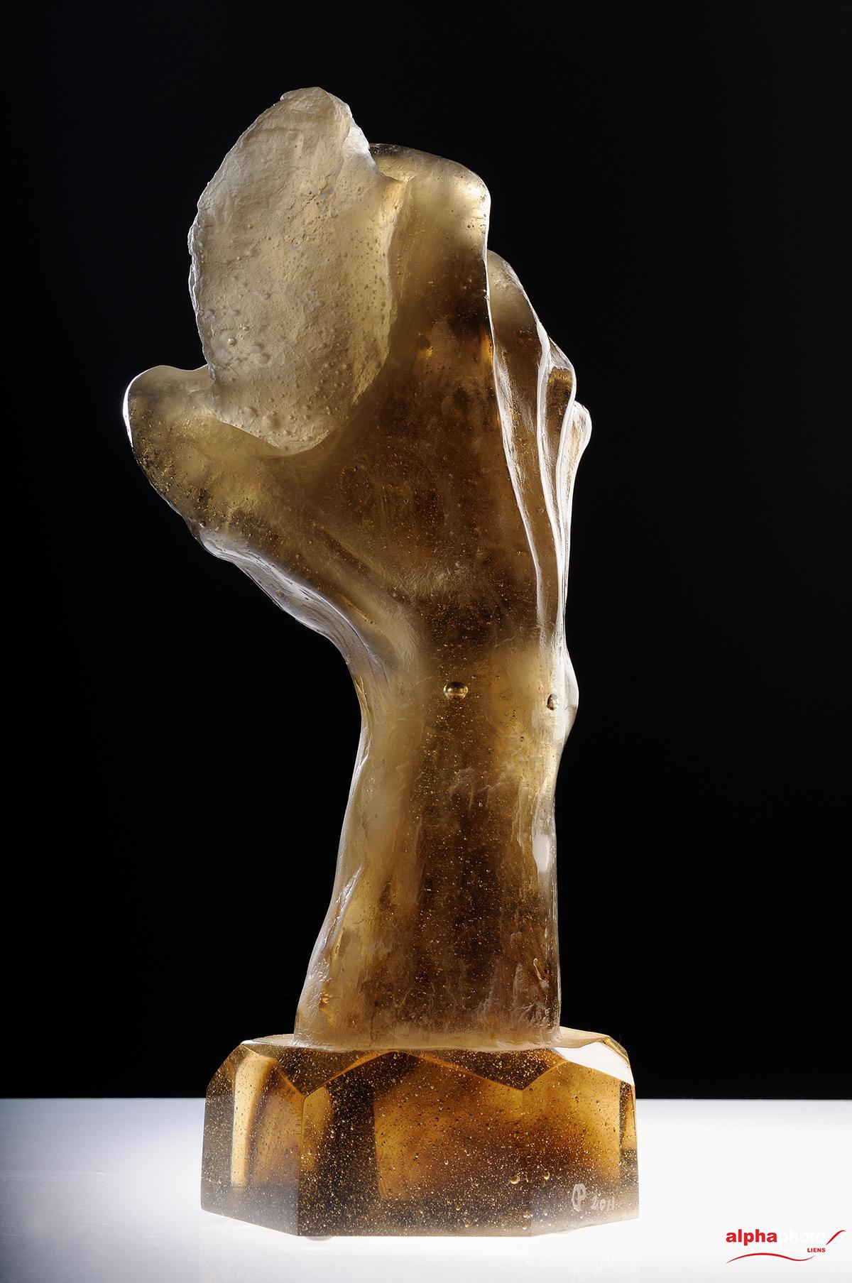 Bienvenue - Sculpture de Patrick CHALAND