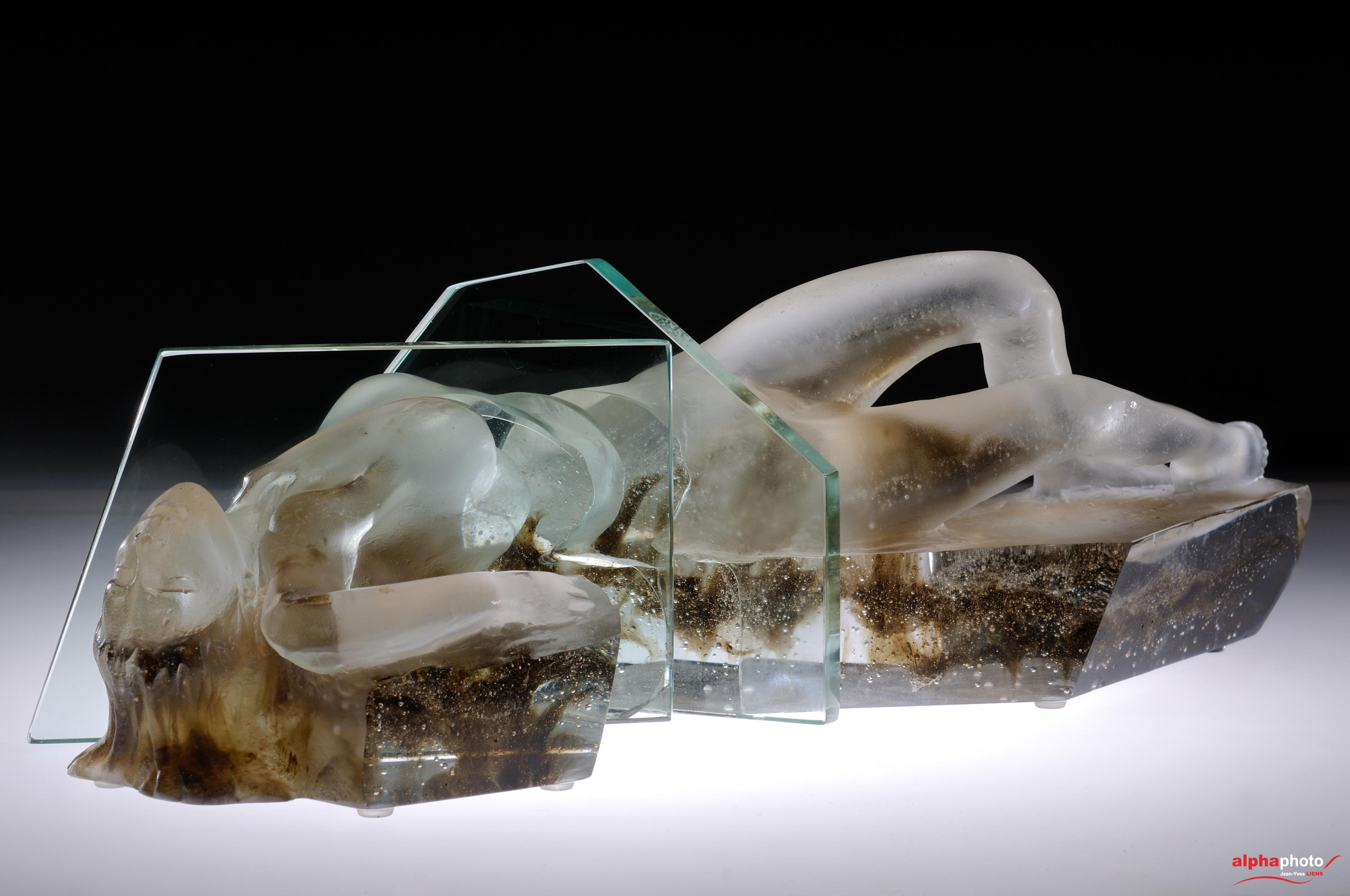 Eternel féminin - Sculpture de Patrick CHALAND