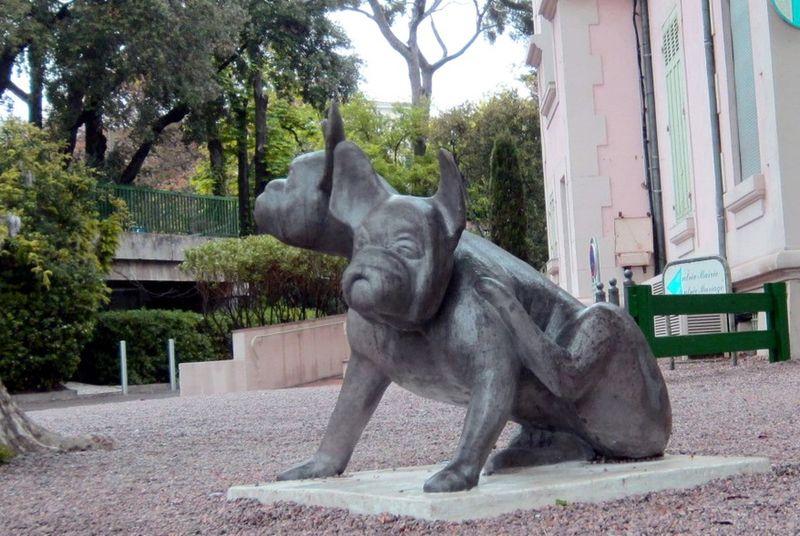 Cerbere - Sculpture de Patrick Chaland