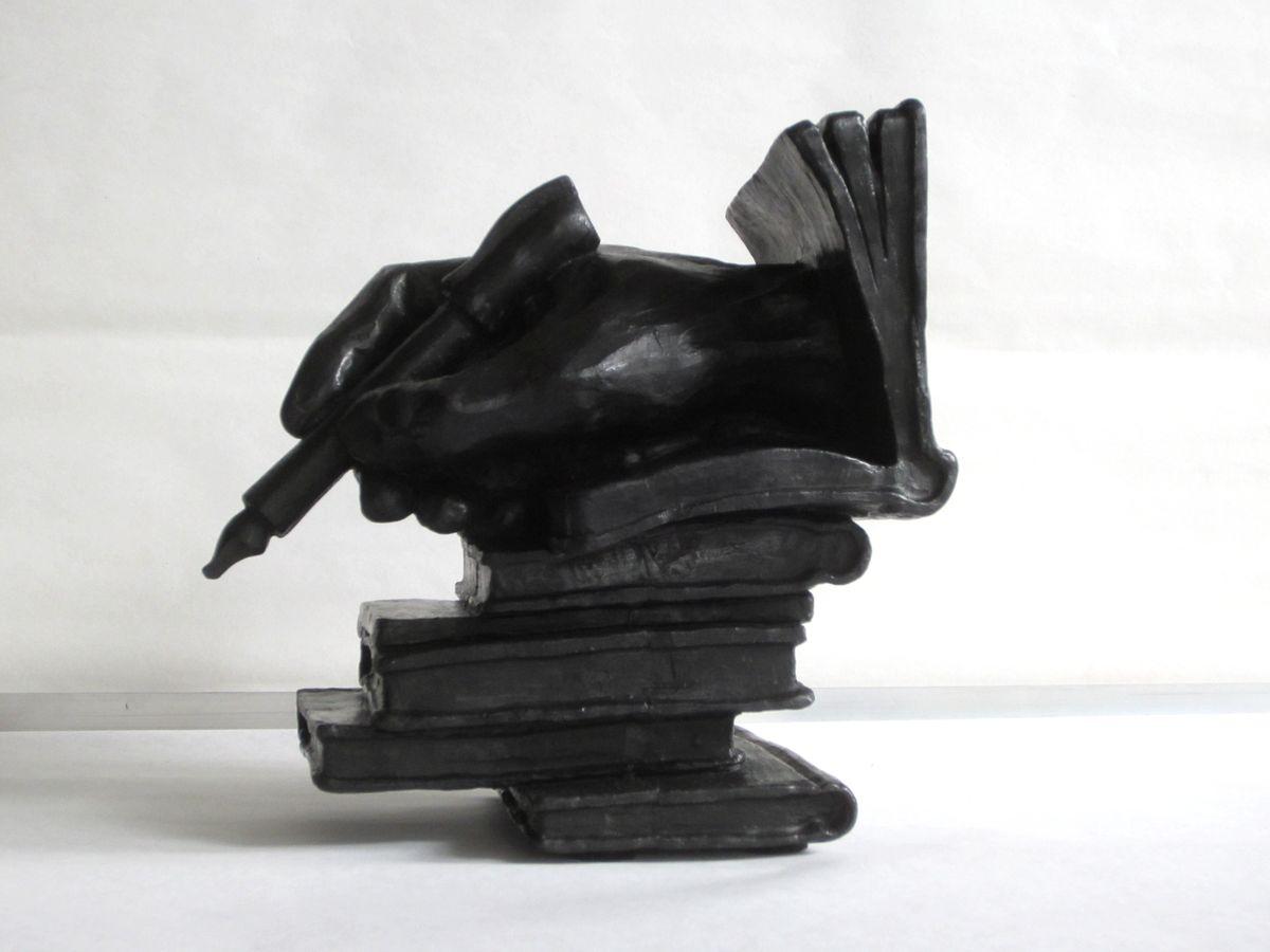 Trophée Dictée Francophonie -Sculpture de Patrick CHALAND