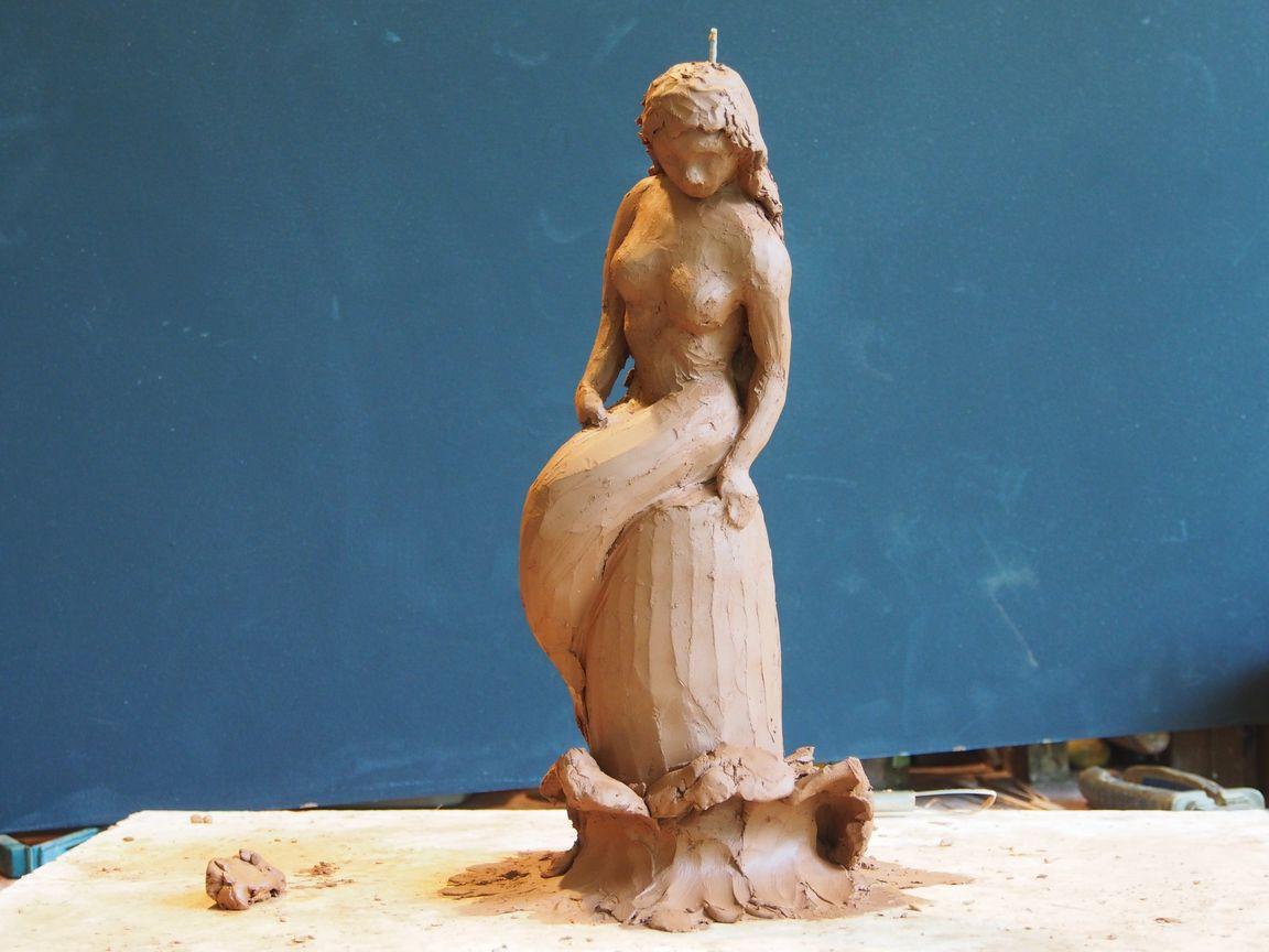 Trophée Sirène -Sculpture de Patrick CHALAND